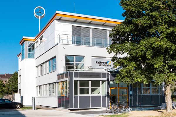 Hat immer mehr Zuspruch: Das Kundenzentrum der Stadtwerke in der Walter-Flex-Straße.